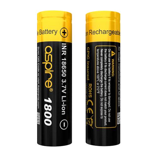 Aspire 18650 Battery(1800mAh)