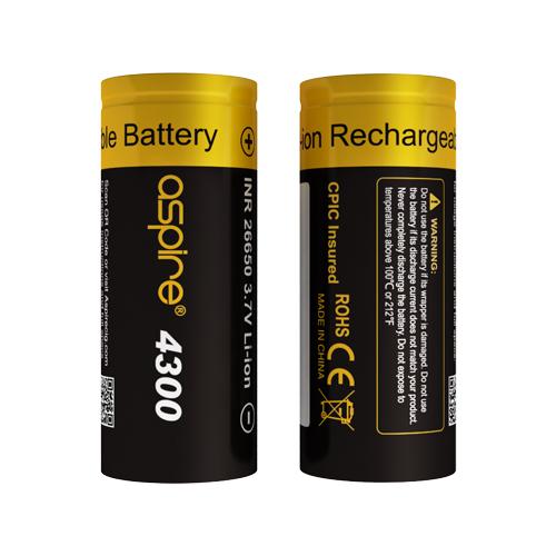 Aspire 26650 Battery(4300mAh)